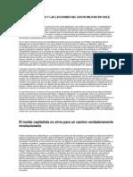 Los Libertarios y Las Lecciones Del Golpe Militar en Chile