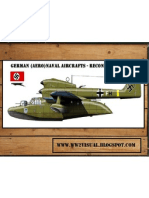 German (Aero)Naval Aircrafts - Reconnaissance