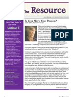 The Resource / Volume 1 Issue 4