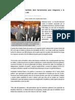 25-01-2013 Cruzada de Peña también dará herramientas para integrarse a la sociedad productiva