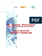 En Plenes Facultats - Dossier de Formació sobre Drogues i Counselling