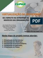 Virtualização de Servidores pim atual