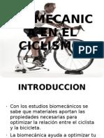 Biomecanica en El Ciclismo