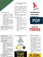 Brochuer Prevencio Del Sida