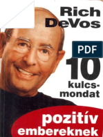 10 kulcsmondat pozitiv embereknek