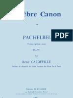 pachelbel canon D