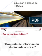 A20 Introducción Bases de Datos