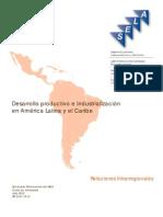 Desarrollo productivo e Industrialización en ALC-rev1