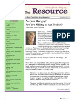The Resource / Volume 2 Issue 9