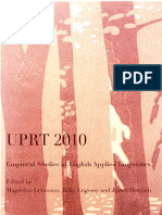 Empirical Studies in English Applied Linguistics 2010