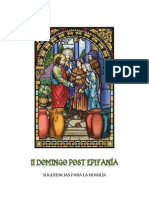 II domingo post Epifanía -sugerencias para la homilía-
