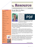 The Resource / Volume 3 Issue 6