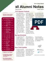 01-25-2013 Newsletter