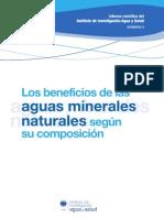 Los beneficios de las aguas minerales naturales según su composición