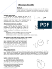 Exercices de Mecanique Du Solide