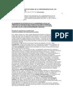 LA JERARQUÍA CONSTITUCIONAL DE LA JURISPRUDENCIA DE LOS TRIBUNALES INTERN