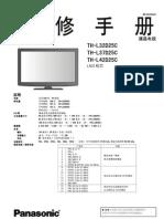TH-L32D25C Service manual