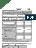 BIR Form 1700