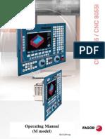 Fagor 8055iM Manual