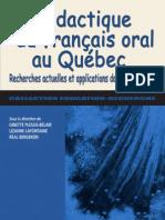 La Didactique Du Francais