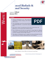 Advanced Biofuels and National Security