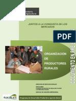 Organización de los productores rurales 18-11-2012