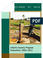 Evaluation of World Bank Group's Strate in Liberia