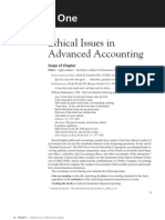 Ethical Issues in Advanced Accounting