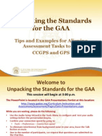 Unpacking the Standards_October 30_2012_Final.pptx