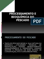 Processamento e Bioquímica do Pescado
