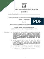 Perda DKI No 8 Thn 2008 Tentang Pencegahan Dan Penanggulangan Bahaya Kebakaran