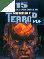 Biblioteca Universal de Misterio Y Terror 15