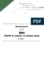 (1909) Κουγέας Σωκράτης - Νικλιάνοι und φαμέγιοι