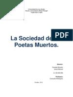 """Análisis de la película """"La Sociedad de los Poetas Muertos"""""""