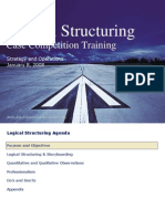 Logical Structuring - Deloitte's Case Competition Training