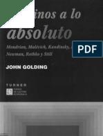 Golding John - Caminos a Lo Absoluto
