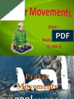 manfaat gerakan2 shalat