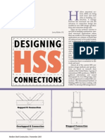 designing hss connections truss structural steel rh scribd com AISC Steel Shapes Table AISC Steel Sizes