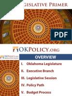 2013 Legislative Primer
