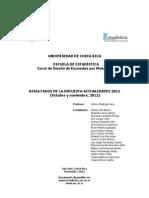 Costarica (Ucr Estadistica Actualidades 2012)