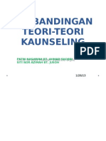 Fatin & Azimah Jusoh-perbandingan Teori-teori Kaunseling