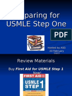 Guide to Preparation for USMLE Step 1 Feb 07