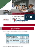 UPC Rating San Fernando