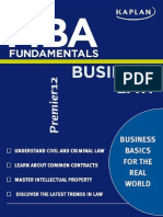 MBA Fundamental Business Law