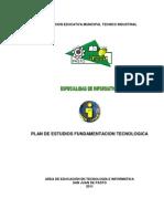 Modelo de Plan de Area