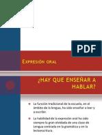 Expresión oral expo