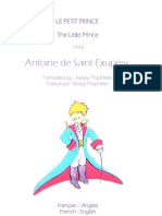 Le Petit Prince Translation to English