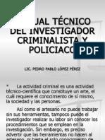 Manual Tec. Del Inv. Policiaco