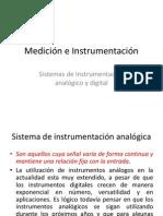 Sistemas de Instrumentación analogico y digital