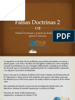 Doctrinas Falsas 2